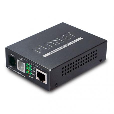 VC-201A - Convertisseur de média Fast Ethernet 10/100Base-TX vers VDSL2