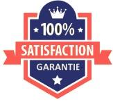 100% des clients satisfaits de notre service de fabrication