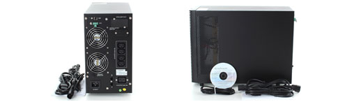 Gamme ZP120N, UPS double conversion