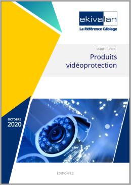 Couverture Catalogue Ekivalan Vidéoprotection