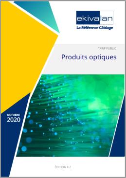 Couverture du Catalogue Ekivalan Optique