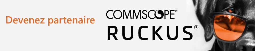 Devenez partenaire de CommScope RUCKUS