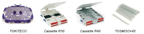 Kits cassettes epissures