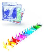 Clips de couleurs amovibles