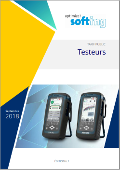 Catalogues produits de tests