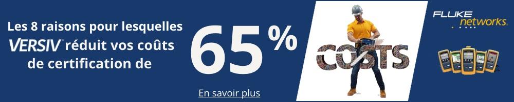 Versiv réduit les coûts de certification de 65%