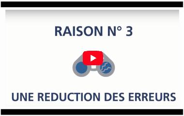 video réduction des erreurs