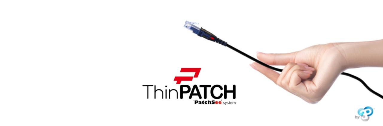 ThinPatch de 3PDesign, vous facilite le brassage des baies informatiques
